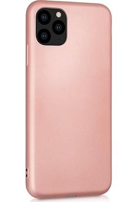 Soffany Apple iPhone 11 Rose (Gül Kurusu) Esnek Polikarbon Rubnice Kılıf Rose