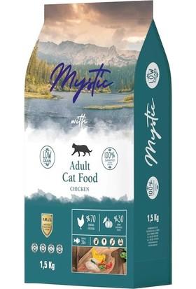 Mystic Düşük Tahıllı 2 Paket Tavuklu Yetişkin Kedi Maması 1,5 kg