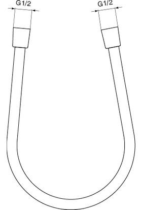 Ideal Standard Ideal Flex Duş Hortumu 160 cm