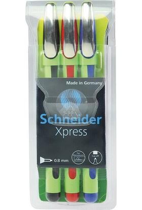 Schneider Xpress Fineliner Kalem 3'lü