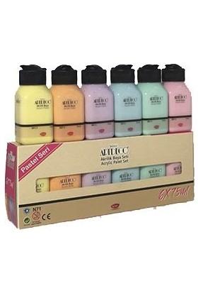 Artdeco Akrilik Boya Set Pastel Renkler 6'lı
