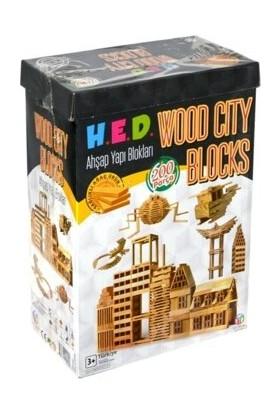 HED Derinceeticaret Hed 244 Wood City Blocks 200 Parça