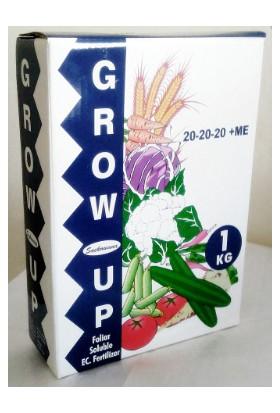 Ekin Tarım Gübre Grow Up 20.20.20+Me Npk Içerikli Toz Bitki Besini (1 Kg)