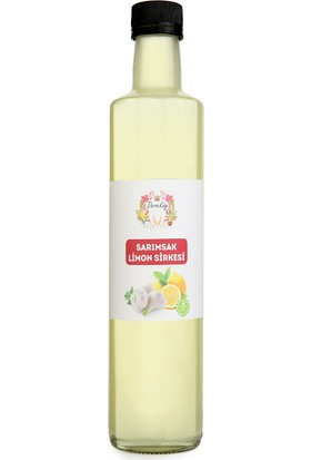 Dereköy Yöresel Ürünler Sarımsak Limon Sirkesi 500 ml
