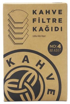 Kahve Dünyası Filtre Kahve Kağıdı No 4 ,80 ' Li