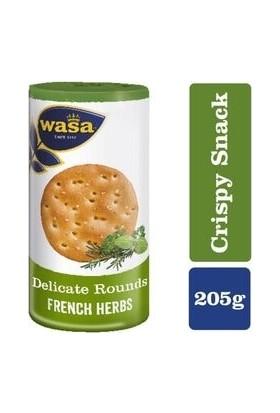 Wasa French Herbs Yuvarlak Gevrek Ekmek 205 gr