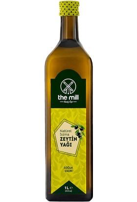 The Mill Yüksek Kalite Natürel Sızma Zeytinyağı Cam Şişe 1 Litre