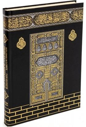 Kur'an-I Kerim ve Yüce Meali Kabe Kapaklı - Orta Boy