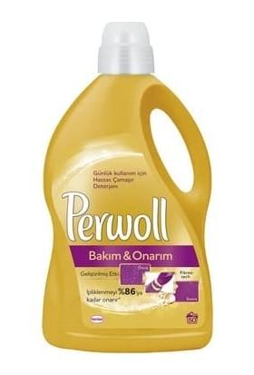Perwoll Bakım Onarım Sıvı Çamaşır Deterjanı 50 Yıkama 3 lt