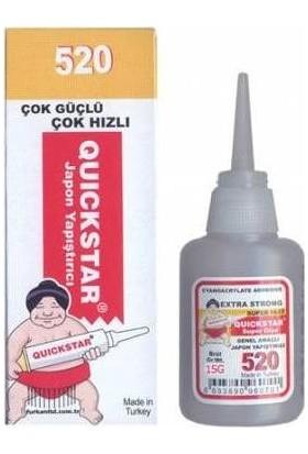 Quickstar 520 / 525 Japon Yapıştırıcı Brüt 20 gr