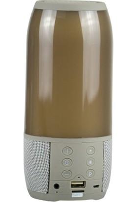 LED Işıklı Portable Müzik Kutusu Höparlor Bluetooth Hoparlör