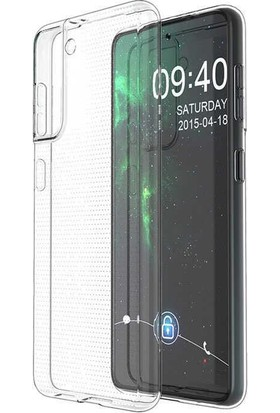 Zümrah Samsung Galaxy S21 Renkli & Silikon Koruma Kılıf Kapak Şeffaf