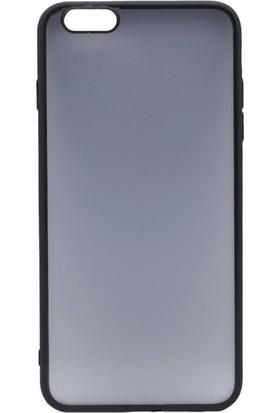 Mopal Apple İphone 6 Plus 6S Plus İce Silikon Kılıf Siyah