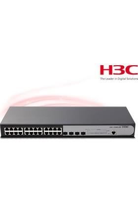 H3C 9801A1Q8 S1850-28P 24 Port 10-100-1000 Mbps + 4 Port Sfp