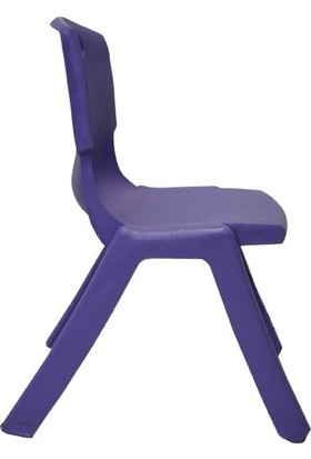 Temel Mor Kırılmaz Çocuk Sandalyesi - Kreş ve Anaokulu Sandalyesi
