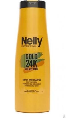 Nelly Gold 24K Şampuan Yağlı Saç 400 ml