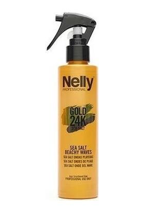 Nelly Gold 24K Saç Sprey Deniz Tuzu Etkili 200 ml