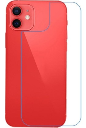 Ally Apple İphone 12 Mini 5.4 İnch Tempered Arka Cam Koruyucu Al33609 Şeffaf
