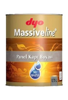 Dyo Massiveline Su Bazlı Panel Kapı Boyası Beyaz 0,75 Lt