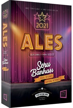 657 Yayınları 2021 ALES Konu Özetli Açıklamalı Soru Bankası