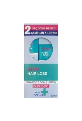 Cecemed Stop Hair Loss Şampuan 300 ml + Losyon 75 ml
