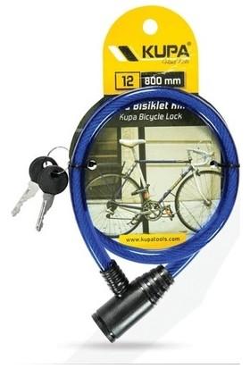 Kupa Çelik Bisiklet Kilidi 12X800MM
