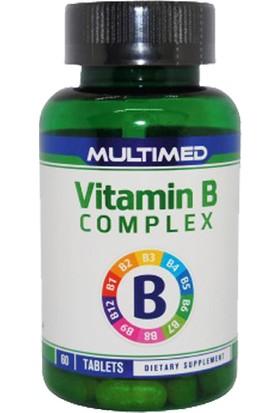 Multimed Vitamin B Complex 60 Tablet B Vitamini