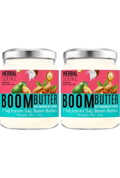 Boom Butter Saç Bakım Yağı Ikili Paket