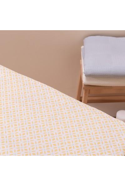 Favore Casa Ütü Masası Kılıfı Keçeli 60x140 Sarı