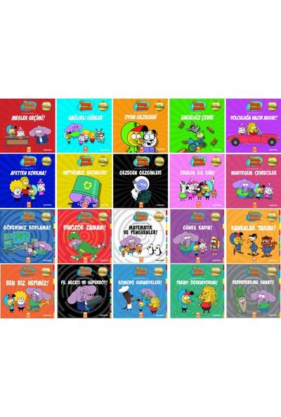 Eksik Parça Yayınları Kral Şakir Ilk Okuma Kitapları 1. Sınıflar Için 20 Kitap Set - Meslek Seçimi - Sağlıklı Günler - Oyun Gezegeni - Engelsiz Çevre