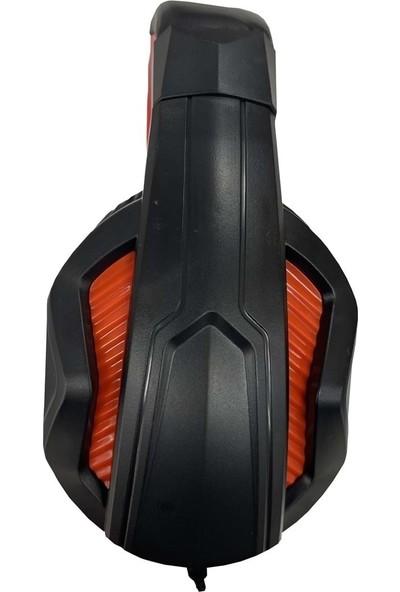 Hytech Hy-G9 Oyuncu Kulaküstü Kulaklık Siyah - Kırmızı