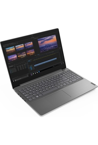 "Lenovo V15 Intel Core i3 1005G1 4GB 128GB SSD Freedos 15.6"" FHD Taşınabilir Bilgisayar 82C500JFTX001"