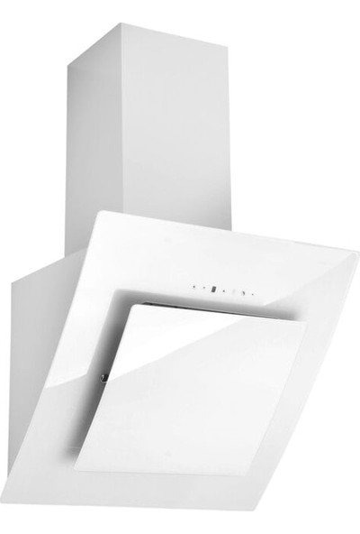 Hoover HDM 656 WTK 60 Cm Dekoratif Yatay Beyaz Cam Davlumbaz