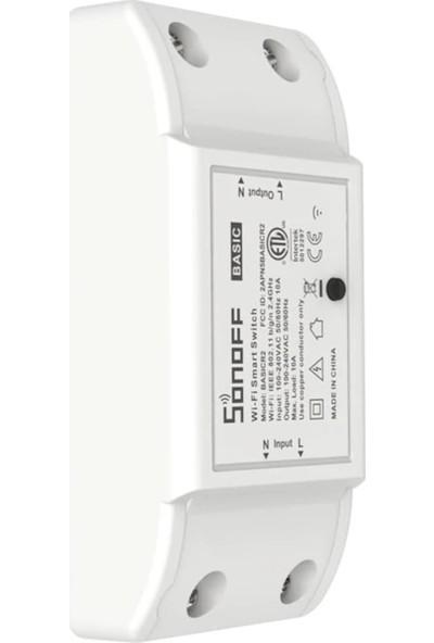 Sonoff Basic R2- Wifi Akıllı Ev Rölesi