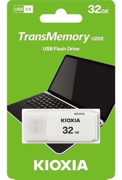 Kioxia 32GB U202 USB 2.0 Bellek (LU202W032GG4)
