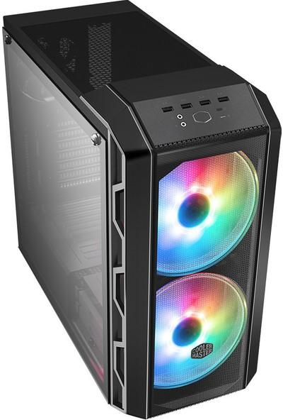 Cooler Master MasterCase H500 ARGB 750W 80+ Bronze Tempered Glass USB 3.2 ATX Mid Tower Bilgisayar Kasası MCM-H500-IGNB75-S03