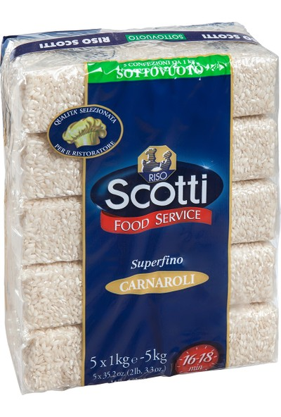 Scotti Carnaroli Pirinci 5 kg
