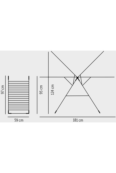 Tevalli MT14 - Tevalli Home Kurudy Insert Çamaşır Kurutma
