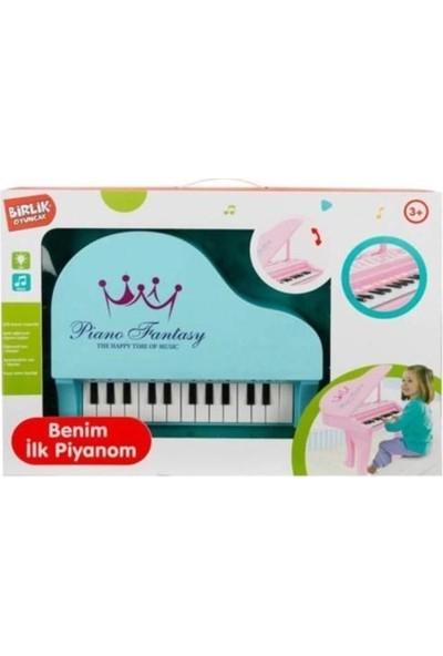 Birlik Klasik Ayaklı Piano HY671-E Mavi