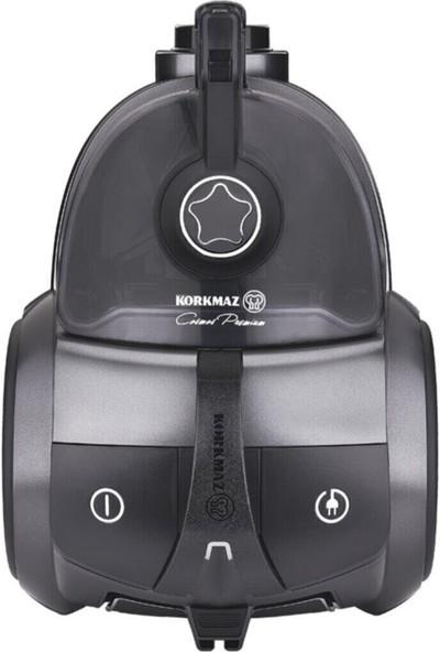 Korkmaz A902-02 Cosmos Premium Elektrikli Süpürge - Antrasit