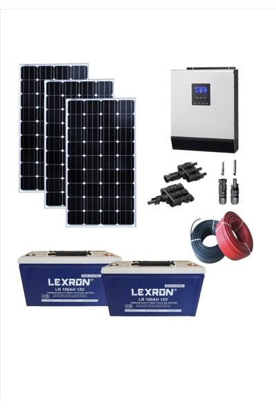 İsos Güneş Enerjili Eko Karavan Paketi(Monokristal Panelli+Akıllı Inv)