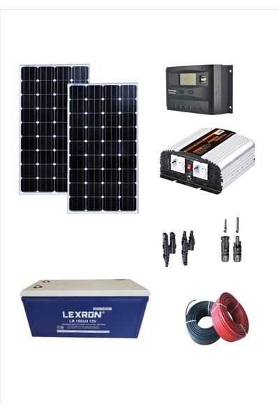 İsos Mini Güneş Enerjili Karavan SİSTEMİ(2X190 Watt Monokristal Panelli)