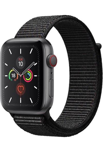 Ferro Apple Watch Uyumlu Akıllı Saat Kumaş Kordon 42-44 mm