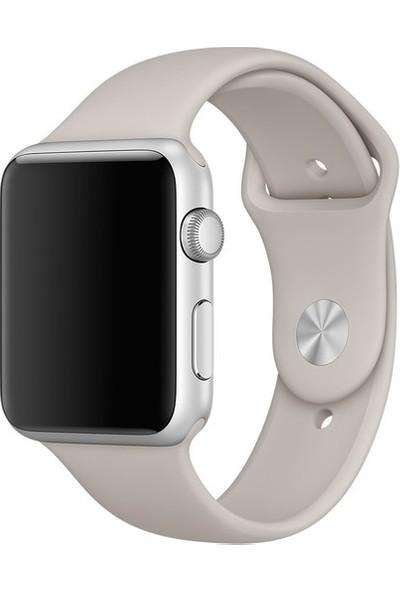 Ferro Apple Watch Uyumlu Akıllı Saat Silikon Kordon 42-44 mm