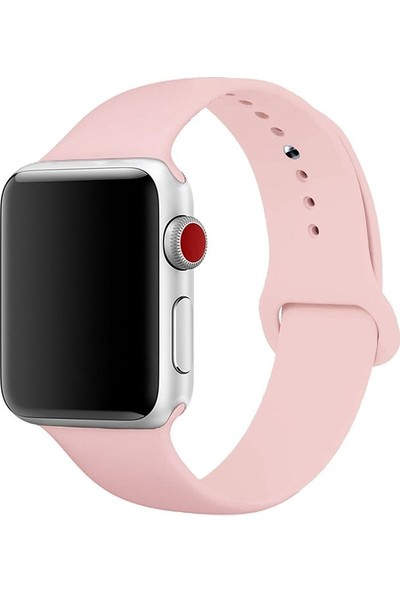 Ferro Apple Watch Uyumlu Akıllı Saat Slikon Kordon 38-40 mm