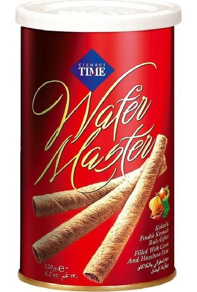 Çizmeci Time Wafermaster Fındıklı Gofret 120 gr x 5
