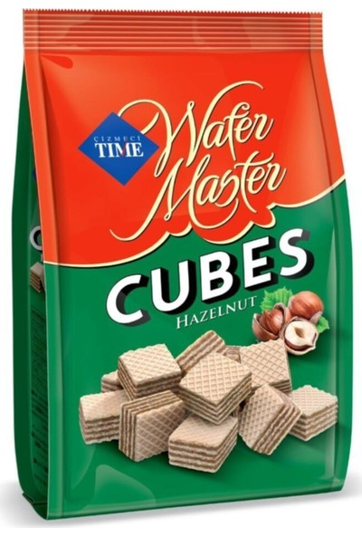 Çizmeci Time Wafer Master Cubes Fındıklı 100 gr x 36