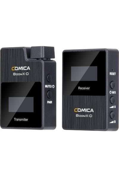 Comica Boomx-D D1 Tek Kişilik Dijital Kablosuz Mikrofon