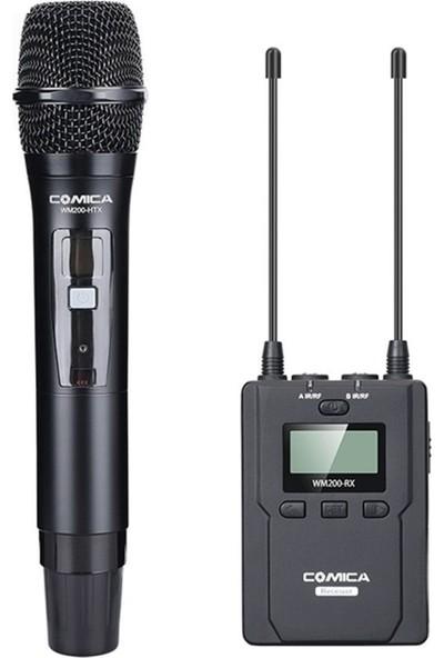 Comica CVM-WM200D El Mikrofonu 96 Kanal 120M