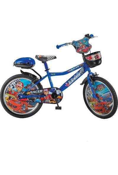 Ümit Bisiklet Ümit Racer Sepetli 20 Jant Çocuk Bisikleti Mavi - 100072